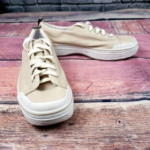 Keds Oatmeal Cream Sneakers Shoe Size 8.5